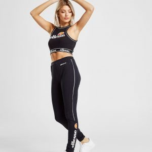 Ellesse Piping Panel Leggings Musta