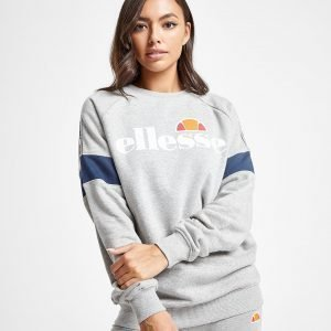 Ellesse Tape Panel Crew Sweatshirt Harmaa