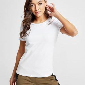 Emporio Armani Ea7 Crew T-Shirt Valkoinen