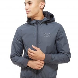 Emporio Armani Ea7 Hooded Sailing Jacket Anthracite