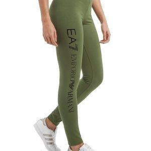 Emporio Armani Ea7 Leggingsit Khaki Green / Black