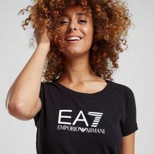 Emporio Armani Ea7 Logo T-Paita Musta