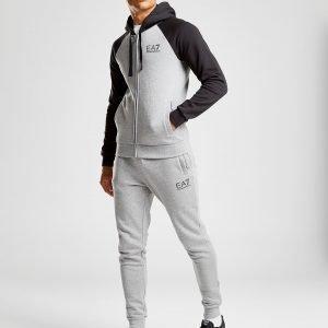 Emporio Armani Ea7 Raglan Fleece Suit Harmaa