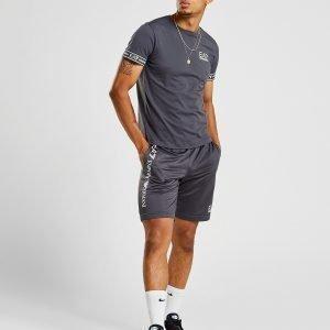Emporio Armani Ea7 Short Sleeve Tape T-Shirt Harmaa