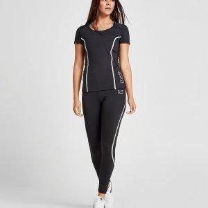 Emporio Armani Ea7 Vigor Short Sleeve T-Shirt Musta
