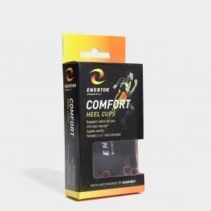Enertor Comfort Heel Cups Musta