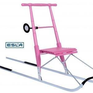 Esla T4 Pinkki Potkukelkka