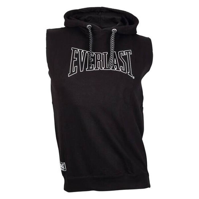 Everlast Sleevless Hoodie Black X-large
