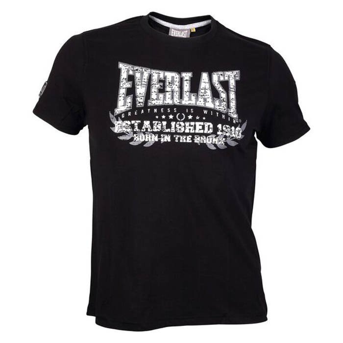 Everlast Sports Tee Black Medium