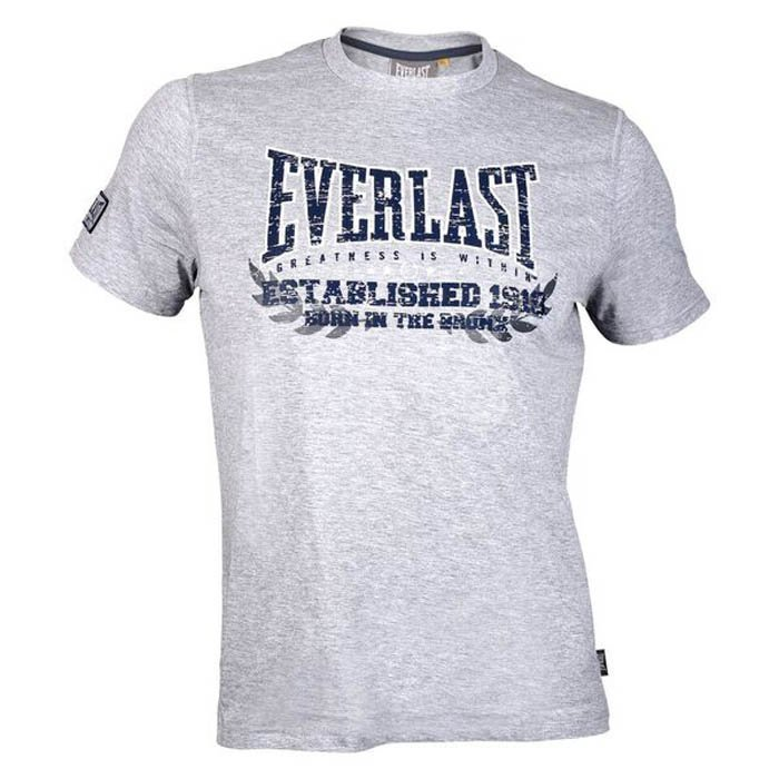Everlast Sports Tee Grey Large
