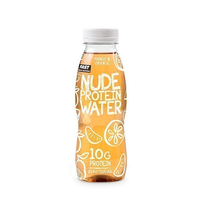 FAST Nude Protein Water 330 ml Mango Orange