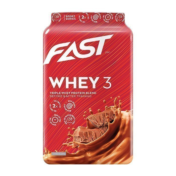 FAST Whey3 600 g Strawberry