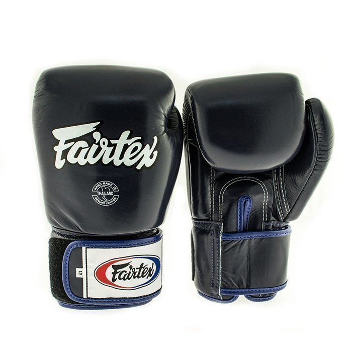 Fairtex BGV1 Classic Universal Muay Thai Glove Blue 10 oz