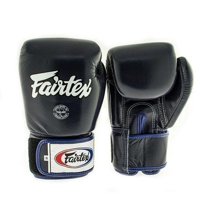 Fairtex BGV1 Classic Universal Muay Thai Glove Blue 16 oz