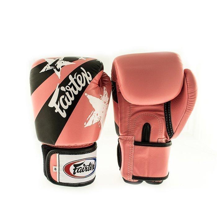 Fairtex BGV1 Classic Universal Muay Thai Glove Pink Nation 10 oz