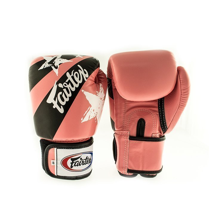 Fairtex BGV1 Classic Universal Muay Thai Glove Pink Nation 12 oz