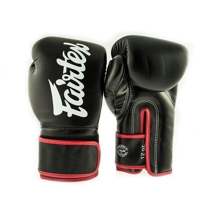Fairtex BGV14  Universal Muay Thai Glove Black 12 oz