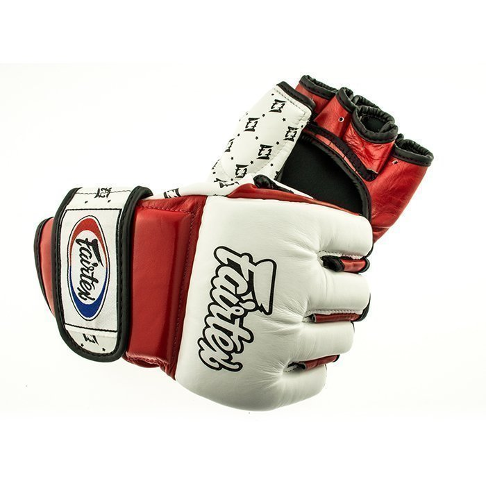 Fairtex FGV17 MMA Glove Red/White XL