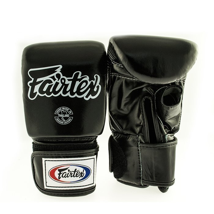 Fairtex TGO3 Bag Glove Open Thumb Black