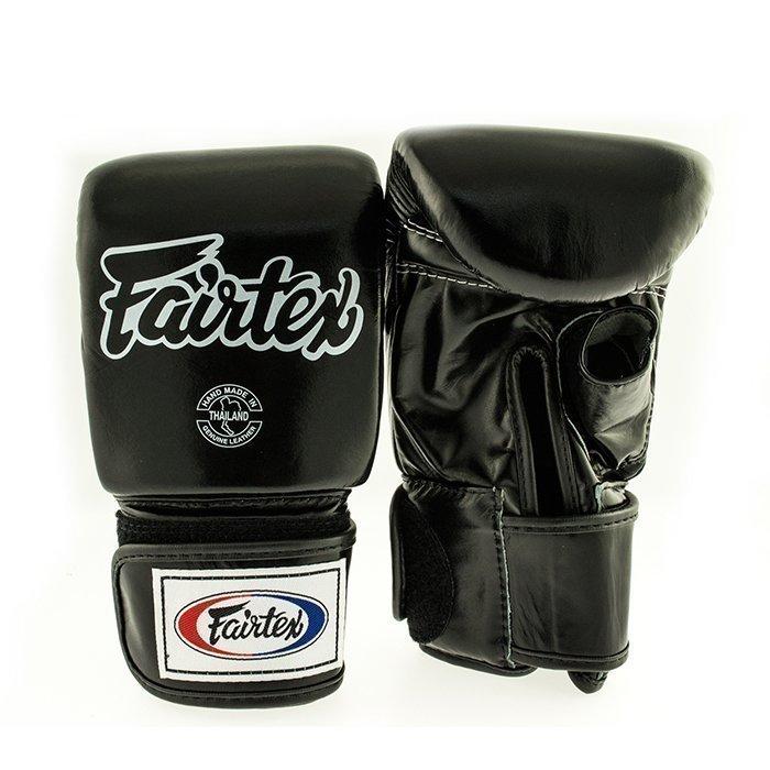 Fairtex TGO3 Bag Glove Open Thumb Black