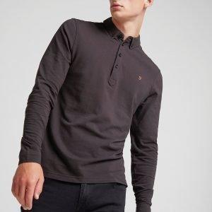 Farah Merri Long Sleeve Shirt Musta