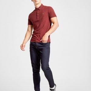 Farah Merri Short Sleeve Polo Shirt Punainen