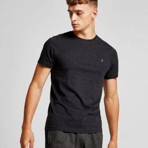 Farah Short Sleeve Denny T-Paita Musta
