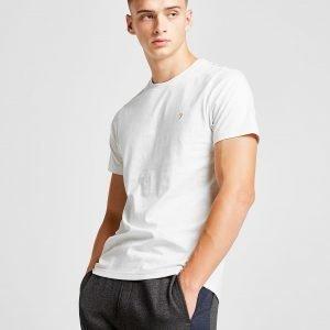 Farah Short Sleeve Denny T-Shirt Valkoinen