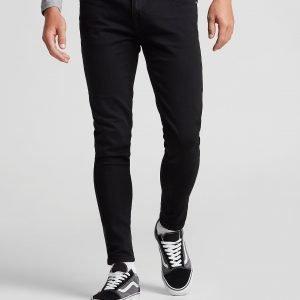 Farah Slim Denim Jeans Musta
