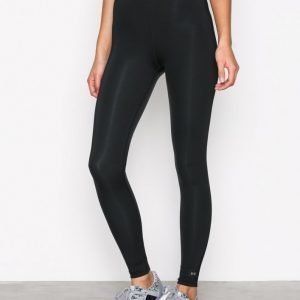 Fashionablefit Banded Sports Tights Treenitrikoot Musta