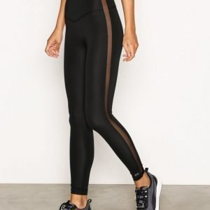 Fashionablefit High Rise Long Tights Treenitrikoot Musta
