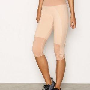 Fashionablefit High Tone Seamless Capri 3/4-Pituiset Treenitrikoot Dusty Pink