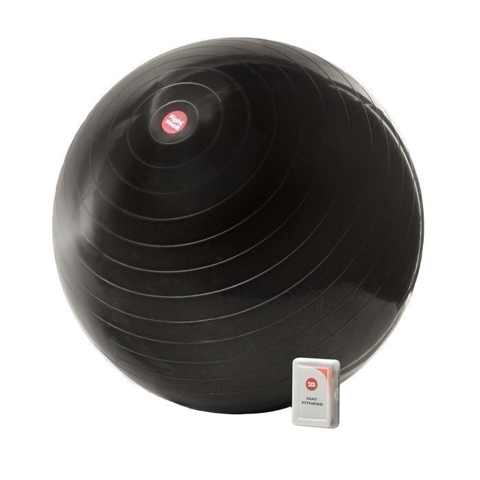 FightBack Fitness Ball 75 cm black