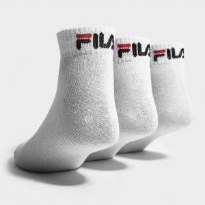 Fila 3-Pack Quarter Sport Socks Valkoinen