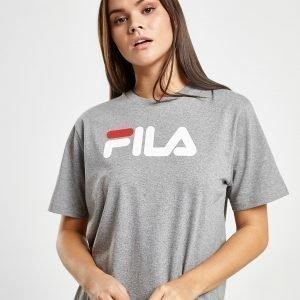 Fila Boyfriend Logo T-Shirt Harmaa