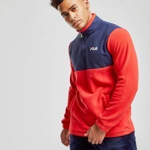 Fila Frazier Polar Fleece 1/4 Zip Sweatshirt Punainen
