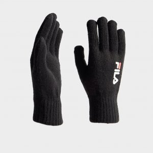 Fila Knit Gloves Musta