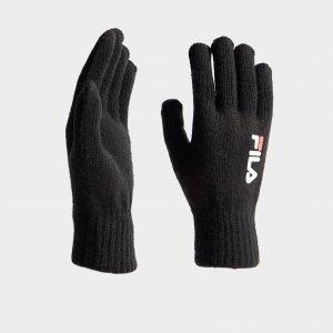 Fila Knit Gloves Musta