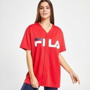 Fila Mesh Baseball T-Shirt Punainen