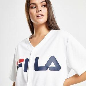 Fila Mesh Baseball T-Shirt Valkoinen