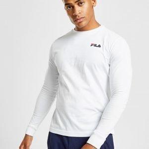 Fila Tom Long Sleeve T-Paita Valkoinen