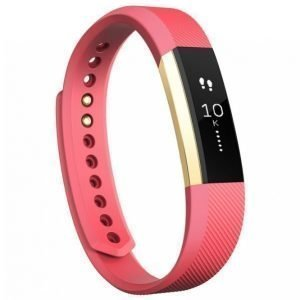 Fitbit Alta Aktiivisuusranneke Pink / Gold Small