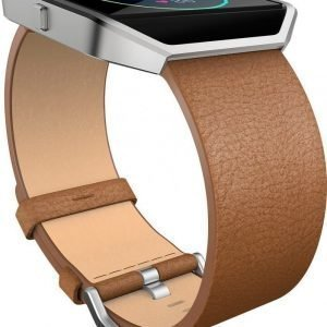 Fitbit Blaze Leather Accessory Band Large Camel