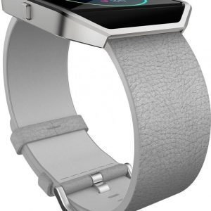 Fitbit Blaze Leather Accessory Band Small Mist Grey
