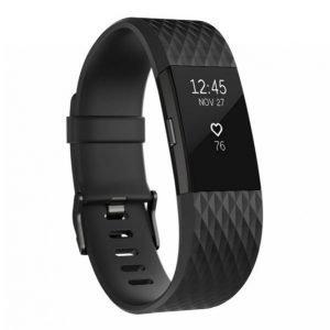 Fitbit Charge 2 Aktiivisuusranneke Black Gunmetal Large