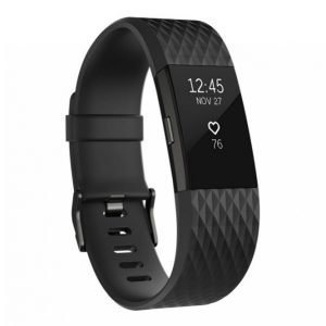 Fitbit Charge 2 Aktiivisuusranneke Black Gunmetal Small