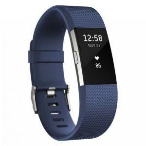 Fitbit Charge 2 Aktiivisuusranneke Blue Small