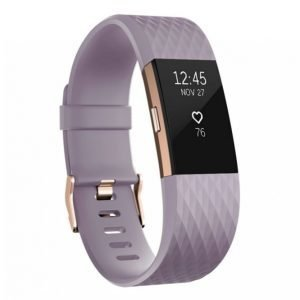 Fitbit Charge 2 Aktiivisuusranneke Lavender Rose Gold Small