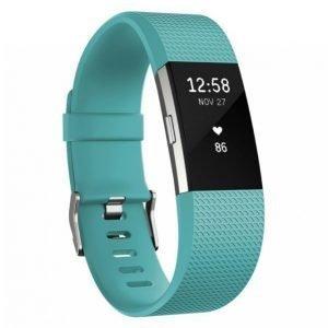 Fitbit Charge 2 Aktiivisuusranneke Teal Large