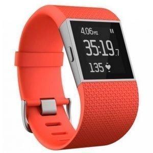 Fitbit Surge Tangerine Large Aktiivisuusranneke / Kello